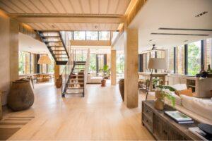 Ilustra una vivienda de Corasol complejo inmobiliario del cual Hugo Salinas Sada es socio inversionista